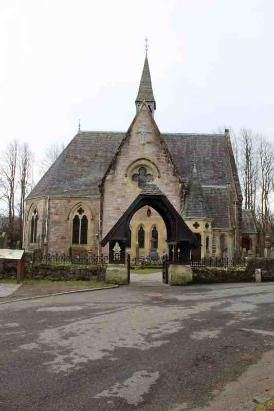 church in luss scotland