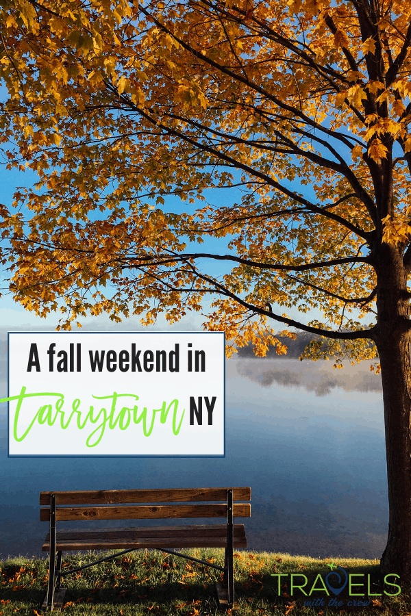 Tarrytown New York is only 30 minutes away from downtown Manhattan and is a wold away in feel. #tarrytown #fallweekend #autumnweekend