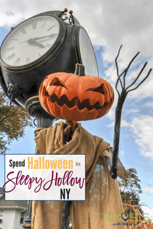 Sleepy Hollow, Ny is the home of the tale of the Headless Horseman. They celebrate Halloween with a month of family friendly scares! #tarrytown #halloween #newyorktravel
