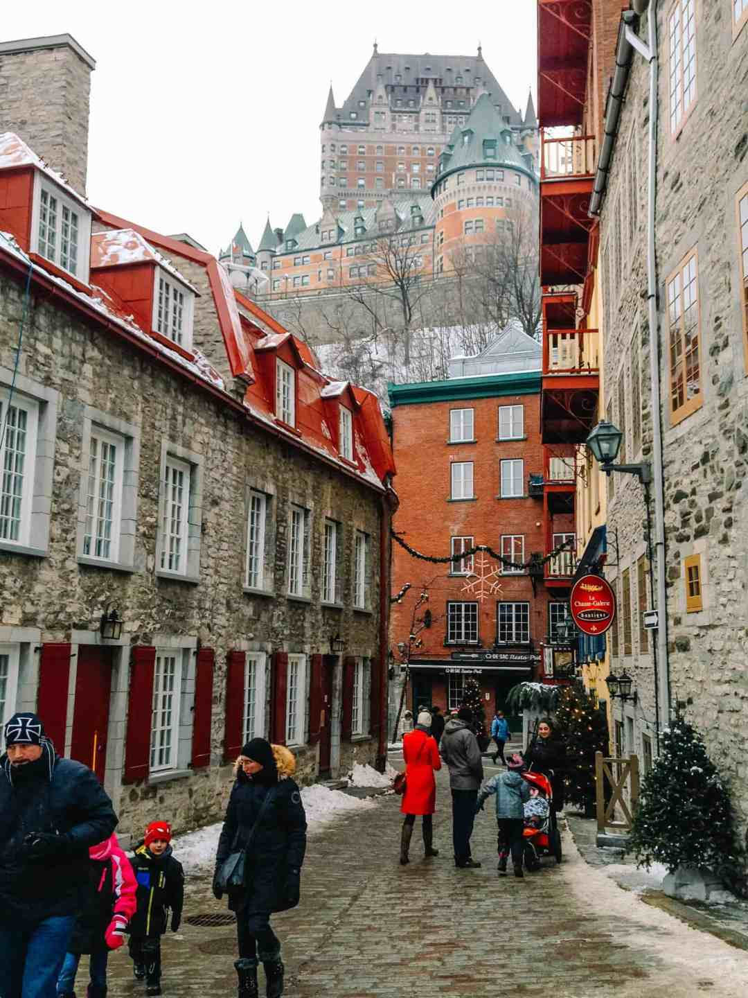 Spend a magical Christmas in Quebec City! This is your ultimate guide for what to do, what to eat, and how to celebrate. #quebeccity #quebecchristmas