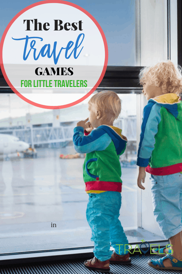 The best travel games for kids. Keep your kids entertained while on long travels! These picks have kept my kids happy for hours of travel! #travelgifts #travelgames #familytravel