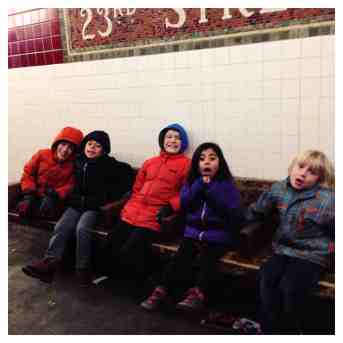 Subway riding in NYC