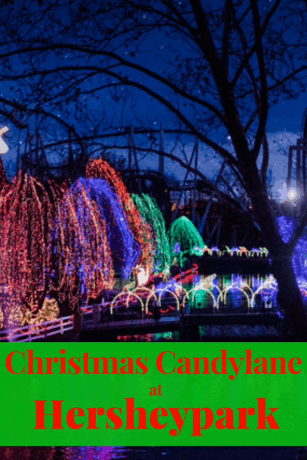 Celebrate Christmas at Hersheypark! There are enough activities to keep your family busy for days. #Hersheypark #christmascandylane #chocolateworld