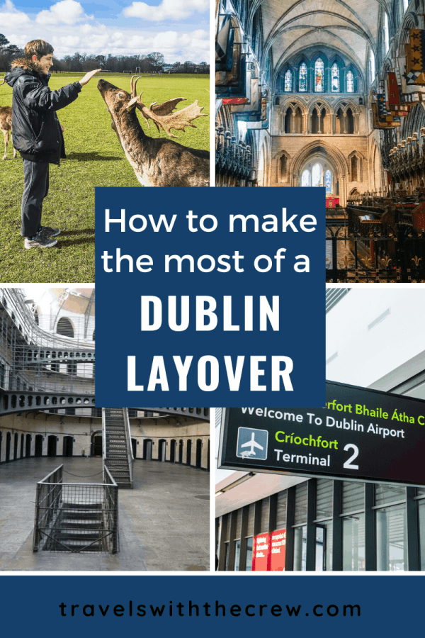 How to make the most out of 5 hours in Dublin! Information on transportation from the airport, the best things to see, how much time it will take to see each thing, and how to squeeze a lot of fun in a very little time. #Dublin #Ireland