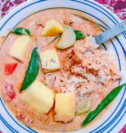 Travel to Thailand from home with this delicious Penang curry.