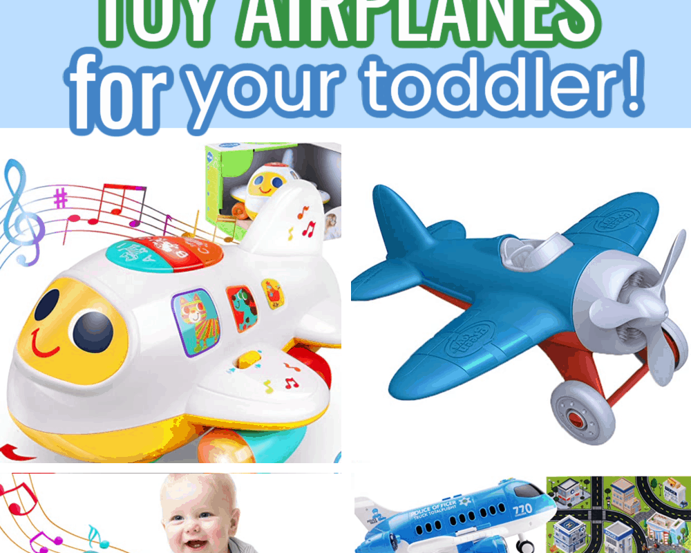Teach your kids to love travel with these charming airplane toys. Toddlers love things that move and they will love these toys so much!