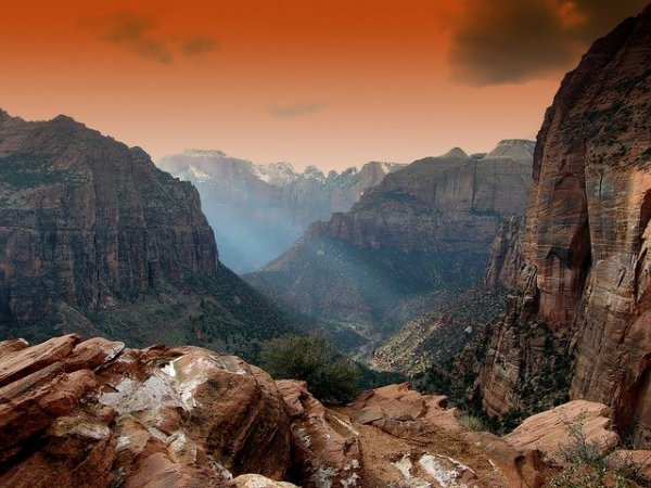 Road trip from Salt Lake City to Zion National Park
