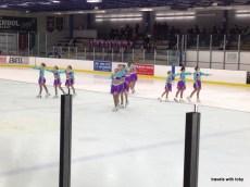 Pre juvenile takes the ice
