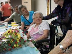 Aunt Sarah's 95th birthday party, Chicago, July