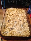noodle and raisin kugel, oh yum