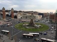 Placa Espanya, Barcelona