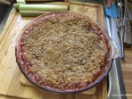 second rhubarb crisp