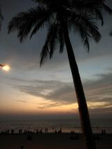 Sunset On Juhu Beach