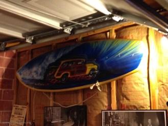 Texas Surf Museum Board art