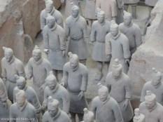 Xi'an 240 Terracotta warriors