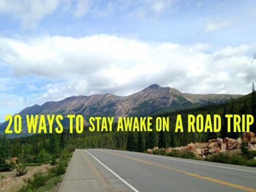 stay awake driving