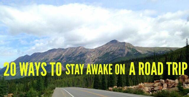 stay awake driving