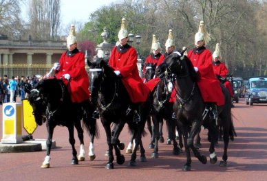 Horse Guards Buckingham Palace