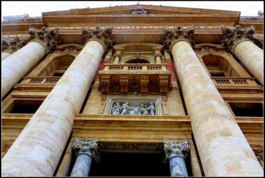 Entrance St Peter's Basilica