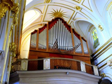 Pipe organ Church of Santa Maria Assunta Positano