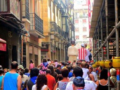 Festival in Bilbao