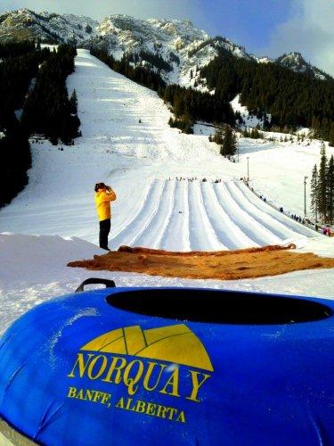 Tubing Mount Norquay