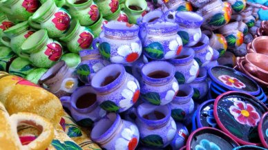 Mexican Market pottery