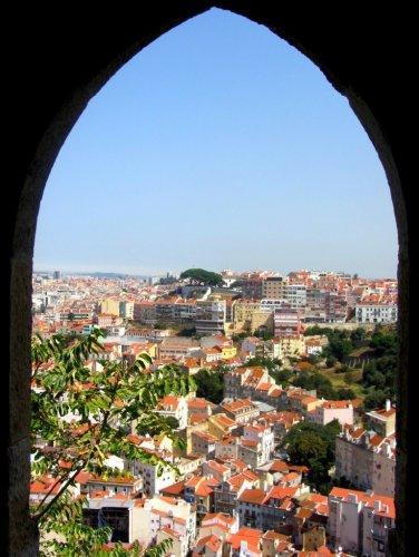 Lisbon view from Castelo S. Jorge