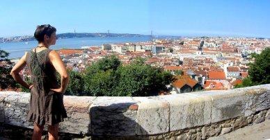 Lisbon Panorama - looking for Fado Music