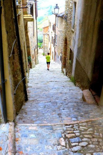 San Casciano Tuscany Town
