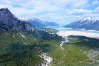 Helicopter tour Banff Jasper