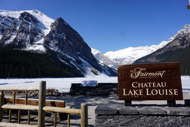 Fairmont Cahteau Lake Louise Winter