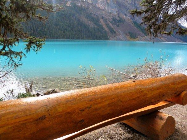 Bench Lake Louise