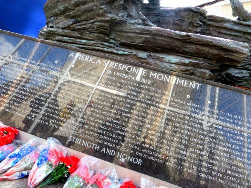 9/11 America's Response September 11 Ground Zero Monument New York City