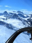 Helicopter tour Icefields