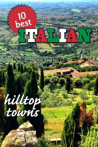 Pinnable image Italy Hilltop towns