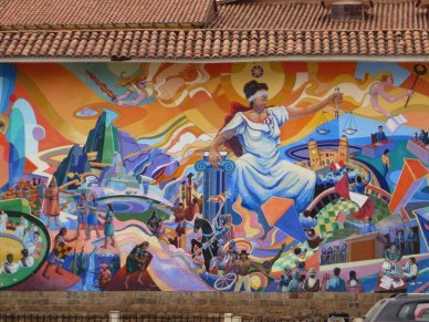 Street Art in Cusco