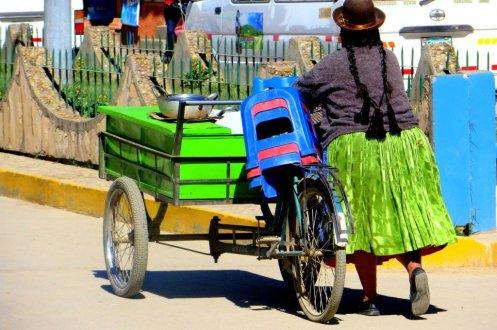 Peru street vendor