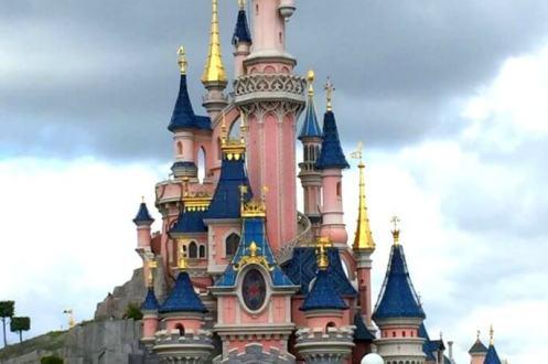 Disnelyland Castle Euro Disney