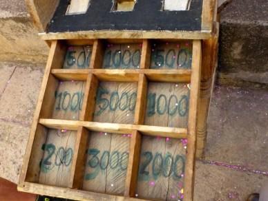 Peru frog game scoring boxes