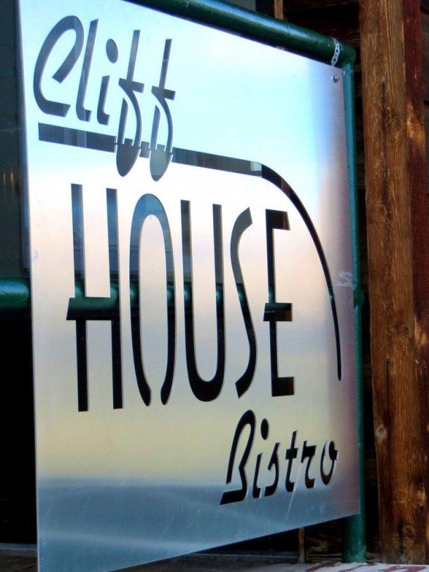 Sign Mt Norquay restaurant