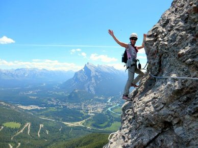 Mt Norquay Via Ferrata