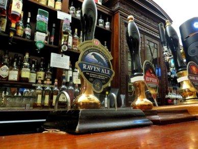 Beer taps Aberdeen Grill Pub