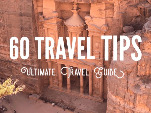 60 Best Travel tips