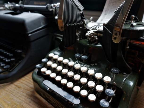 Antique typewriters