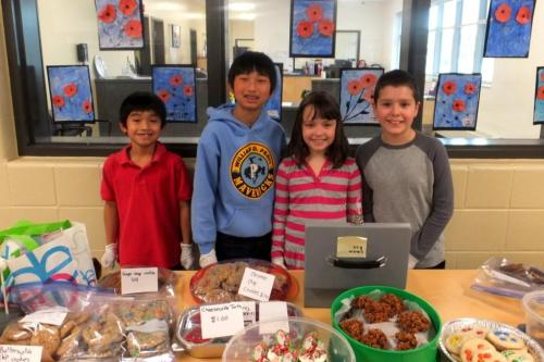Young fundraisers Calgary Food Bank