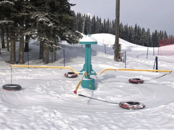 Banff Family activity tube park