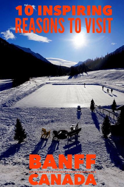 Visit Banff skating