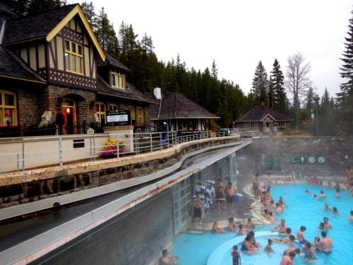 Banff Hot Springs Canadian Signature travel