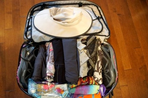 Best carry on bag packed
